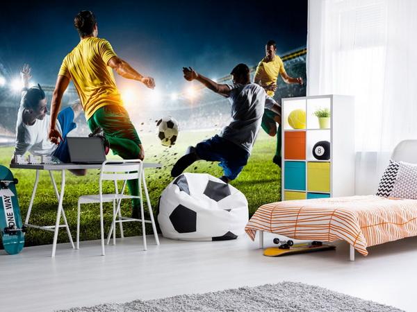 Murando DeLuxe Fototapeta fotbalový zápas  - zvìtšit obrázek
