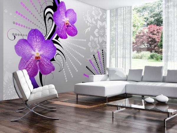 Murando DeLuxe Tapeta orchidej  - zvìtšit obrázek