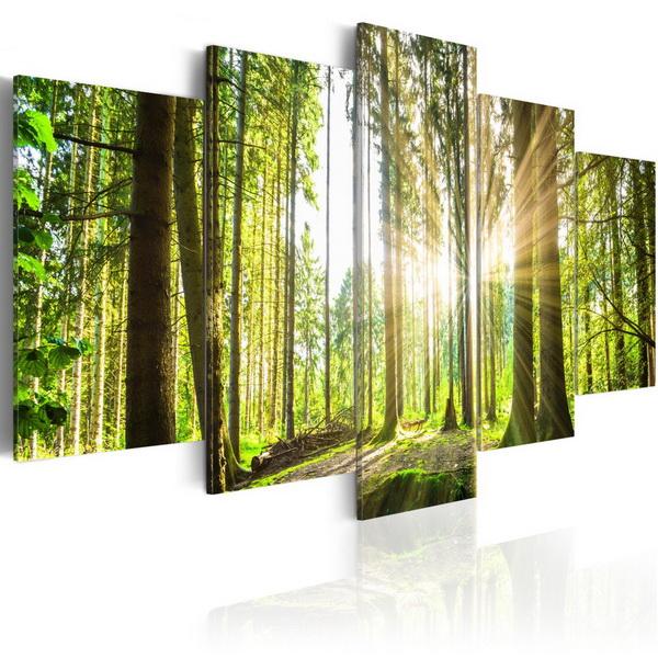 Murando DeLuxe Obraz Lesní království  - zvìtšit obrázek