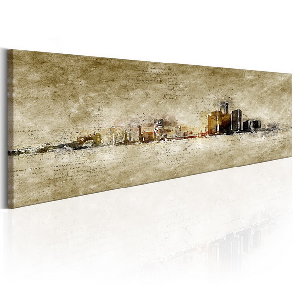 Murando DeLuxe Obraz Panorama mìsta  - zvìtšit obrázek