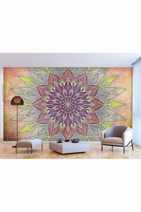 Murando DeLuxe Tapeta pastelová mandala  - zvìtšit obrázek