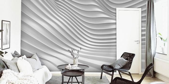 Malvis Tapeta 3D vlny sklad Vel. (šíøka x výška)  504 x 310 cm - zvìtšit obrázek