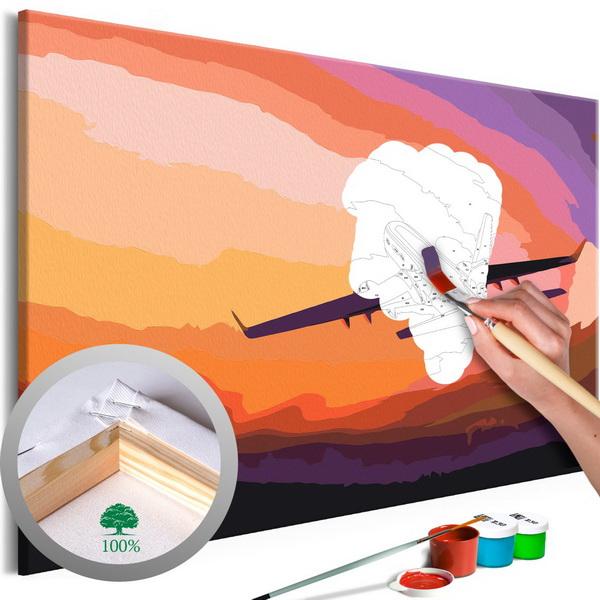 Murando DeLuxe Malování Letadlo v prostoru  - zvìtšit obrázek