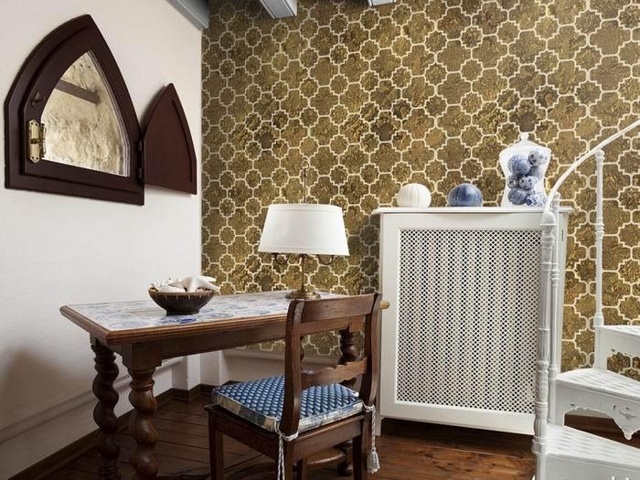 Murando DeLuxe Tapeta Zlatá mozaika Klasické tapety  50x1000 cm - vliesové - zvìtšit obrázek
